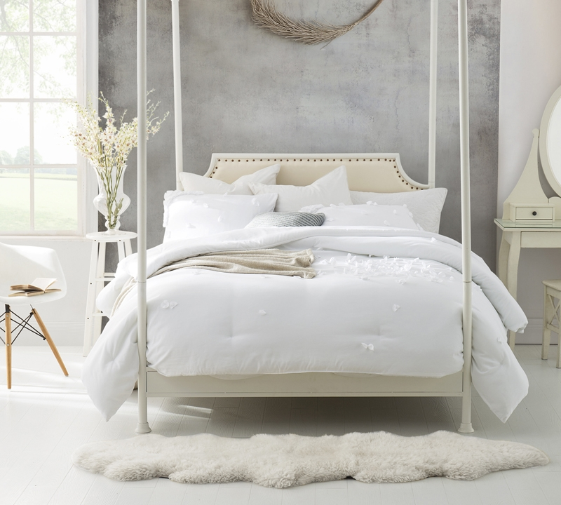 BYB Jersey Knit Oversized Comforter with Textured Edging