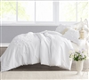 Petals Handsewn XL Twin size Duvet Cover for soft comforter set oversize Twin