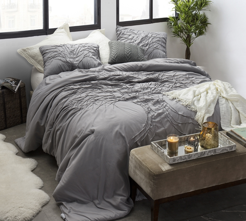 Buy Gray Comforter Sets Sized Extra Long Twin Size Softest Xl Twin