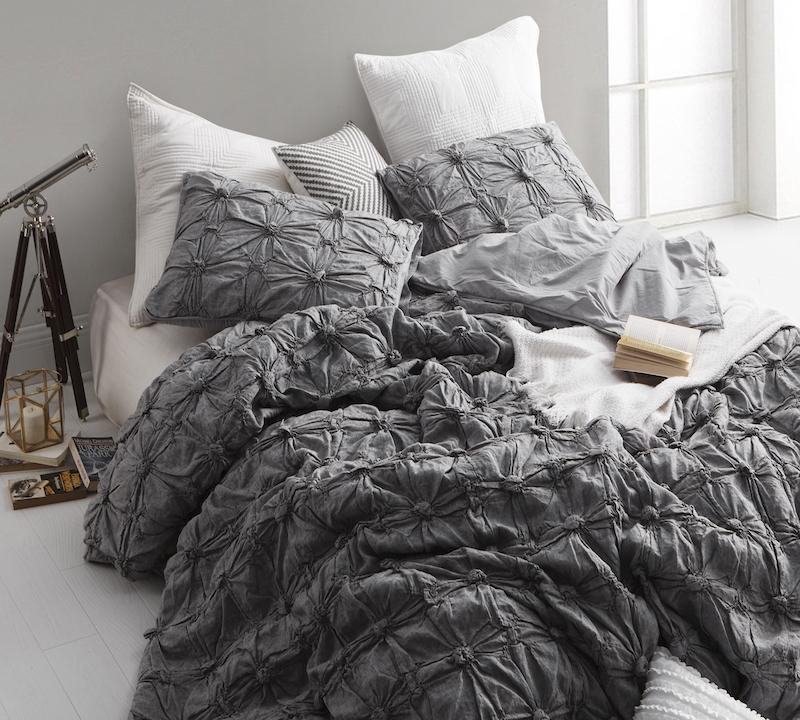 Dark Gray Comforters Size Queen Oversize Shop Terra Cotta Texture Softest Queen Comforter Oversize