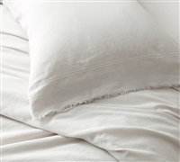300TC Bom Dia Portugal Pillowcases - Washed Sateen (2-Pack)