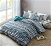 Ultra Soft Twin Extra Long Duvet Cover Designer Zanzibar Teal Twin XL Oversize Microfiber Bedding