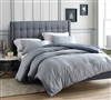 Designer Ticha Dolina King XL Comforter with Black and Blue Detailed Pattern Soft Cotton King Oversize Bedding