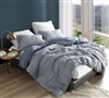 Queen Bedding Essentials 100% Cotton Ticha Dolina Extra Large Queen Duvet Cover with Black and Blue Pattern