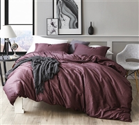 Best King XL Duvet Cover for Oversized King Comforter Stylish Malbec King Bedding Made with Cozy Cotton Fabric
