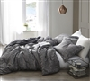 Gray Twin Extra Long Bedding Designer Gray Lightening Oversized Twin XL Comforter Made with Ultra Soft Microfiber