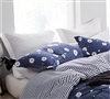 Blue bedding shams size King - Thick and soft shams King size in blue