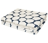 Midnight Hive - XL Twin extended Sheets white and navy