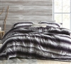 Ultra Plush Twin, Queen, or King Extra Large Comforter Animalistic Striped Twin, Queen, or King Bedding Set with Shams