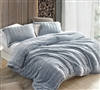 Unique Navy Blue Twin, Queen, or King Oversized Bedding Set with Matching Shams Coma Inducer Cozy Peaks Soft Twin, Queen, or King Bedspread