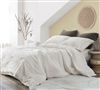 Dove's Peace - Coma Inducer Oversized Queen Comforter - White