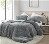 Easy to Match White and Black Neutral Colored Extra Large Queen Duvet Cover with White Oversized Queen Bedspread