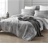 Brucht Designer Supersoft King XL Comforter - Icelandic Crevasse - White/Gray
