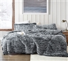 Are You Kidding - Coma Inducer Oversized Twin Comforter - Peppered Black