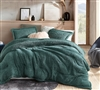 Green King Extra Large Bedding Soft Plush Coma Inducer Shankapotomus Warm and Cozy Oversized King Comforter