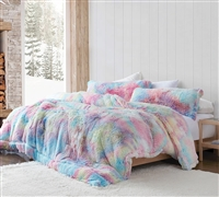 Unicorn Dreamz - Coma Inducer Oversized King Comforter - Buttercup Rainbow