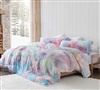 Unicorn Dreamz - Coma Inducer Oversized Queen Comforter - Buttercup Rainbow