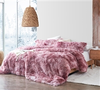 Unicorn Dreamz - Coma Inducer Oversized Queen Comforter - Raspberry Cupcake