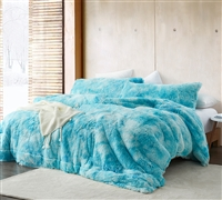 Unicorn Dreamz - Coma Inducer Oversized Queen Comforter - Sky Blue