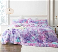 Unicorn Dreamz - Coma Inducer Oversized Queen Comforter - Starburst Rainbow