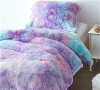 Unicorn Dreamz - Coma Inducer Oversized Twin Comforter - Starburst Rainbow