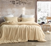 Wool-Ness - Coma Inducer Oversized Comforter - Gilded Beige