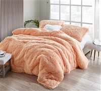 Winter Thick - Coma Inducer Oversized King Comforter - Peach Nectar
