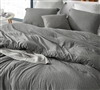 River Stone Oversized King Comforter - 100% Yarn Dyed Cotton