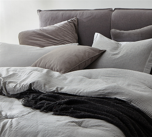 Native Stripe Oversized Queen Comforter - 100% Yarn Dyed Cotton