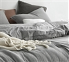 Neutral Colored Twin, Queen, or King Extra Large Comforter Set with Matching Standard or King Pillow Shams