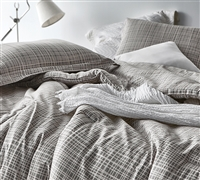 Cinder Union Oversized Queen Comforter - 100% Cotton