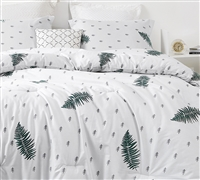 White Pine Oversized Queen Comforter - 100% Cotton