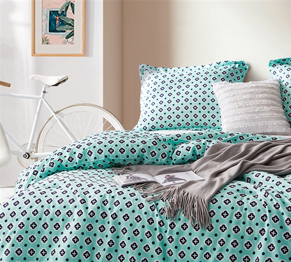 Morgan Elyse Oversized Queen Comforter - 100% Cotton