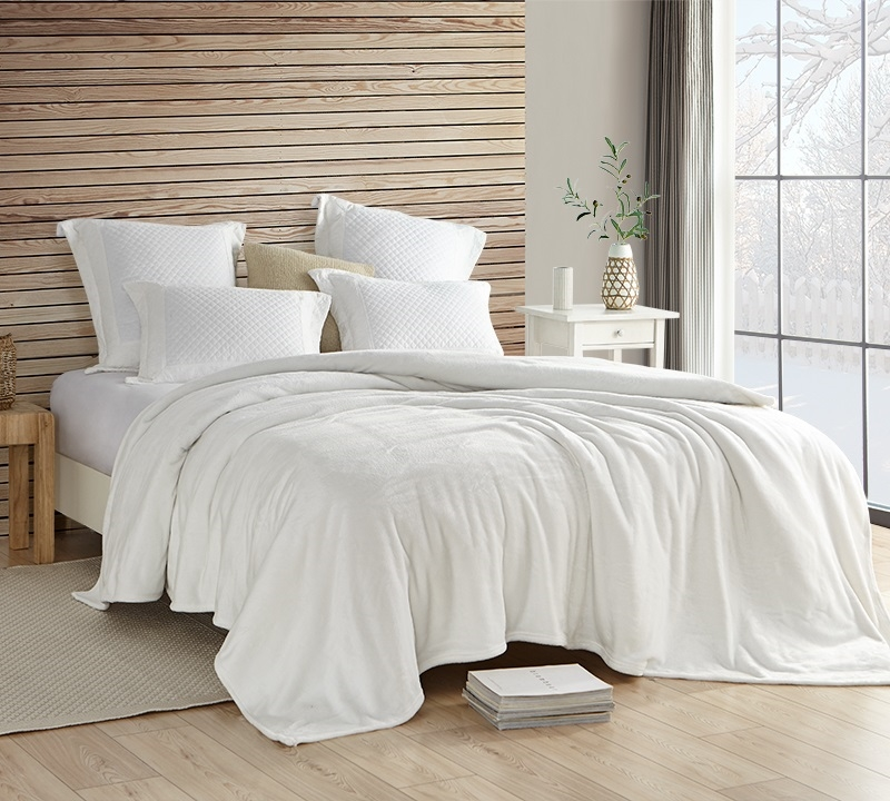 Coma Inducer Blanket Wait Oh What Farmhouse White