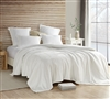 Full Blanket Made with Ultra Cozy Plush Bedding Material Coma Inducer Farmhouse White Wait Oh What Luxury Full Bedding