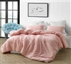 Complete Twin XL, Full XL, Queen XL, or King XL Comforter Set Natural Loft Yarn Dyed Red Super Soft Cotton Bedding