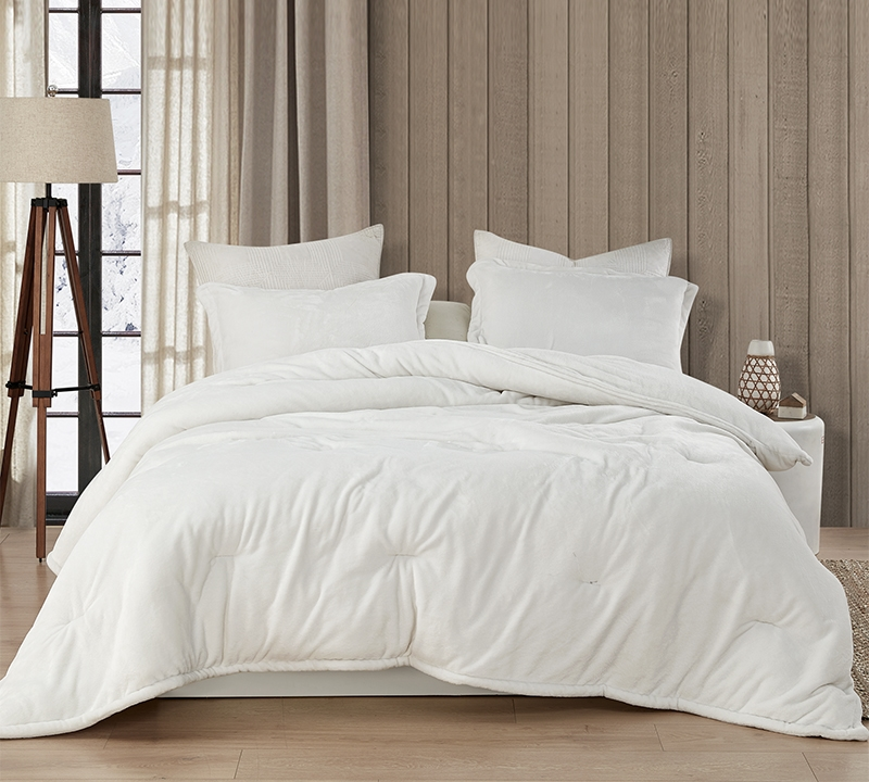 Most Comfortable Extra Large King Comforter Farmhouse White Coma Inducer Wait Oh What Cozy King Bedding Made With Super Soft Plush Material