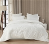 Coma Inducer Oversized Twin Comforter - Wait Oh What - Farmhouse White