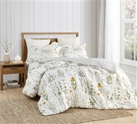 Colorful Twin XL, Queen XL, or King XL Bedding Country Days Designer Oversized Twin, Queen, or King Comforter