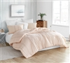 Unique Orange Queen XL Comforter with Softest Cotton Material and Designer Details Oversized for Queen Bed