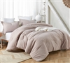 Lilac Mauve Yarn Dyed Oversized Twin Comforter