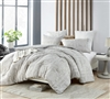 Neutral and Easy to Match Soft Cotton Twin XL, Queen, or King Comforter Oversized Affordable Designer Bedding