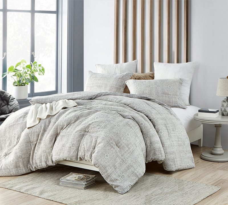 Neutral Colored King Oversized Bedding Decor Unique Zaw Zen Designer Extra Large King Comforter With Matching King Shams