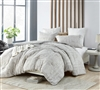 Designer Twin XL Comforter with Cozy Cotton Extra Large Easy to Match Neutral Colored Material