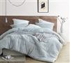 Softest High Quality Cotton Material Oversized Neutral Twin, Queen, or King sized Designer Comforter Set