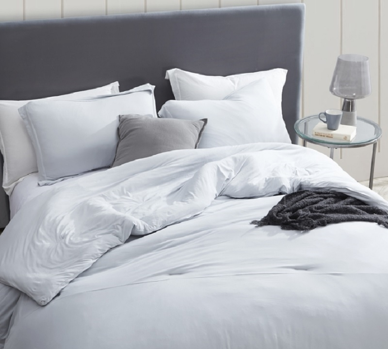 Twin Xl Queen And King Bare Bottom Oversized Duvet Cover Easy To Match Glacier