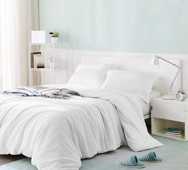 Stylish Twin XL Duvet Cover for Oversized Twin XL Comforter Bare