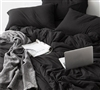 Black Twin XL, Full, Queen, King, and California King Bedding Sheets Soft and Cozy Bare Bottom All Season Sheet Sets