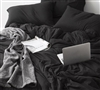 All Season Bare Bottom Sheets in black - Queen Bedding sheet sets Black