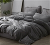Gray Twin XL, Queen, and King Sheet Sets Most Comfortable Bare Bottom Winter Warmth High Quality Soft Bedding